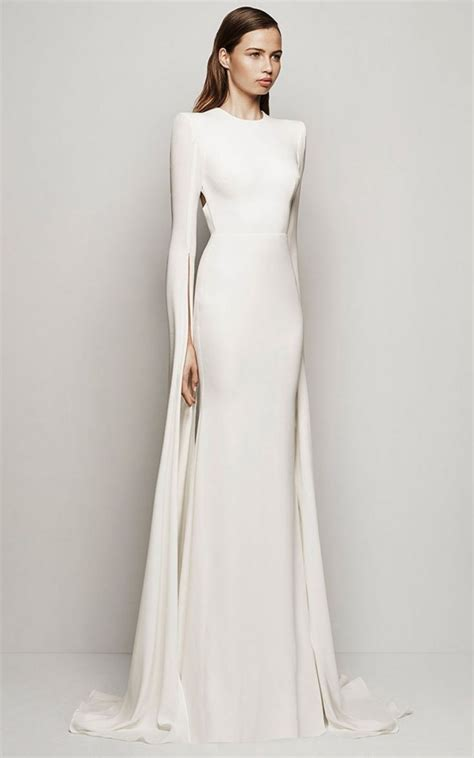exclusive amazing plain formal wear beautiful cottan white simple long white wedding dress cute dresses for a wedding