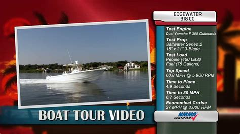 edgewater boats youtube edgewater power boats 318cc review youtube