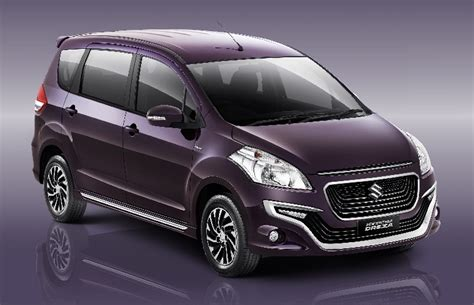 New Suzuki Ertiga Spoiler Model Original Jsl Colour By Request suzuki ertiga dreza launched in indonesia