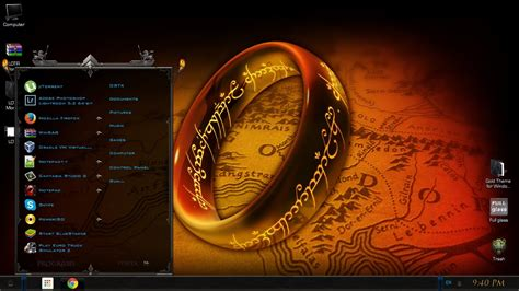 chrome theme lord of the rings chrome theme lord of the rings lord of the rings windows 7