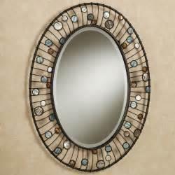 modern furniture oval bathroom mirrors