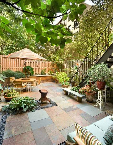Ideas For Small Patio Gardens Small Backyard Garden Ideas