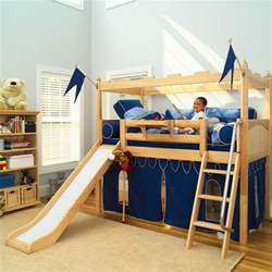 Kid Bunk Bed With Slide Twelve Bedroom Ideas For Indoor Maxtrix