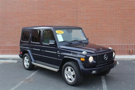 used mercedes g wagon mercedes g series for