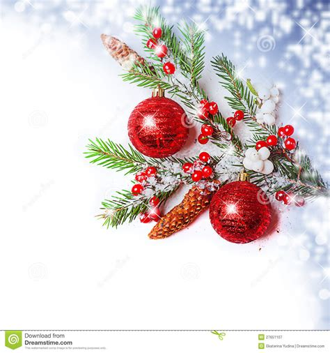 christmas decorations border royalty  stock photography image