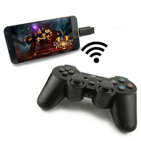 android ps3 controller android wireless gamepad for android phone pc ps3 tv box joystick 2 4g joypad controller