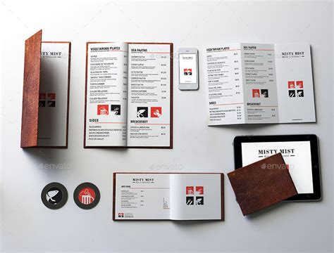 menu design mockup 26 restaurant mockups psd download design trends