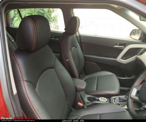 stanley seat covers for creta hyundai creta sx automatic initial ownership report