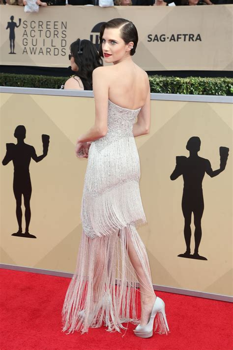 Screen Actors Guild Awards Williams by Allison Williams At Screen Actors Guild Awards 2018 In Los