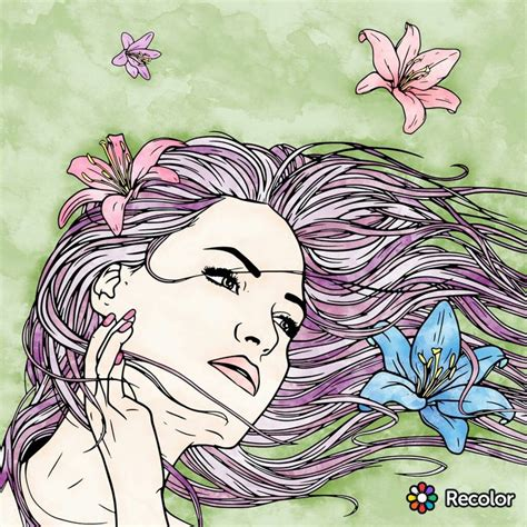 re color 100 best recolor coloring pages images on