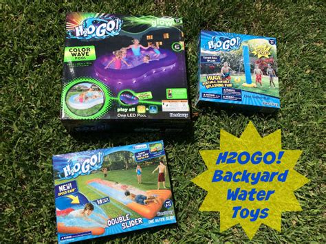 best water toys for backyard h2ogo backyard water toys for summer outnumbered 3 to 1