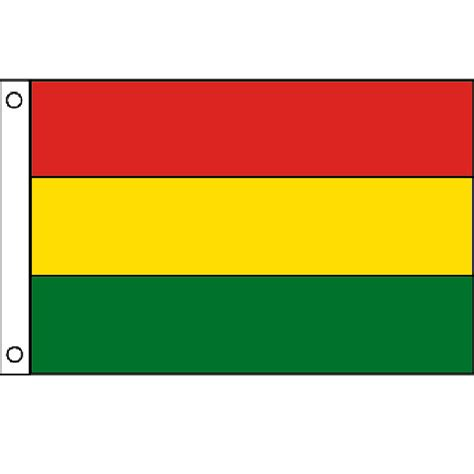 flags of the world yellow green red red yellow green flag