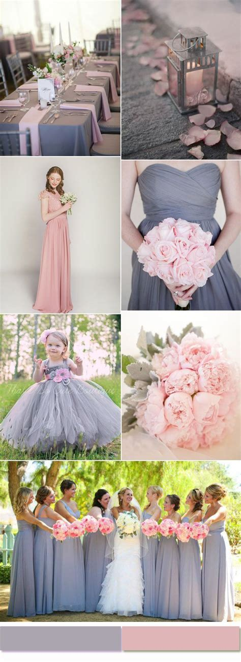 wedding colour schemes grey 2017 most trendy and hot color combinations based on the