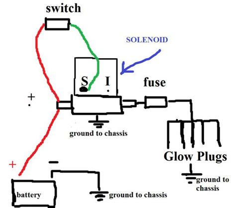 vw glow relay wiring diagram 7 3 glow wiring