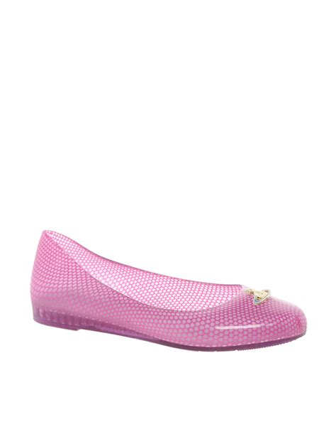 pink ballet flat shoes vivienne westwood for wanting orb ballet flat