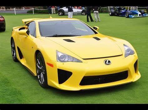 yellow lexus lfa mclaren mp4 12c doovi