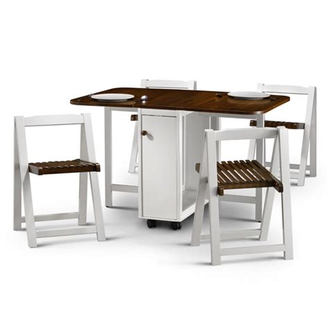 Foldaway Dining Table And Chairs Fold Away Table And Chairs Marceladick