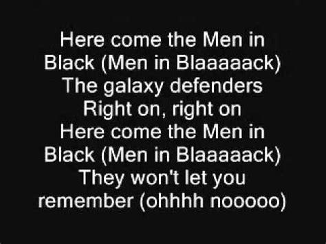 black lyrics will smith men in black lyrics youtube