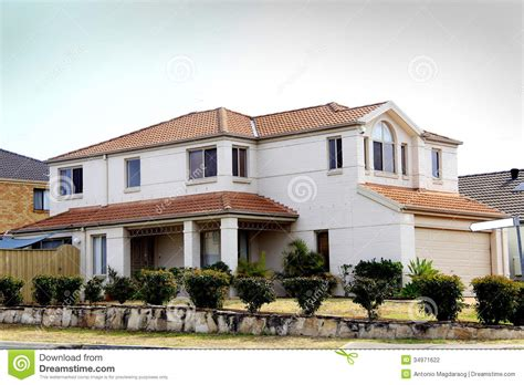 residential house residential house stock photography image 34971622