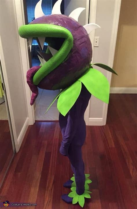 diy plants  zombies chomper costume