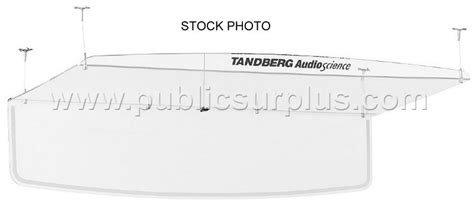 Tandberg Audio Science Ceiling Microphone by Surplus Auction 1001674