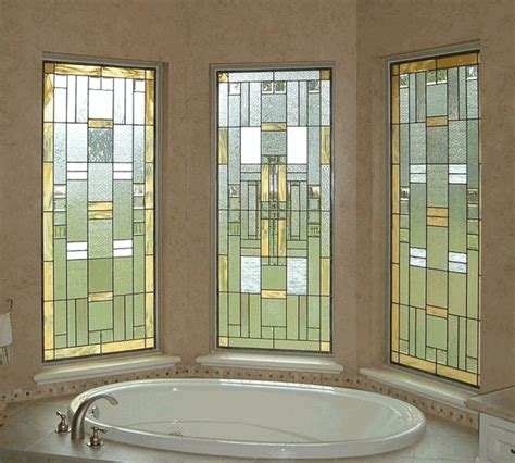 bathroom window glass privacy scottish stained glass houston custom stained glass houston