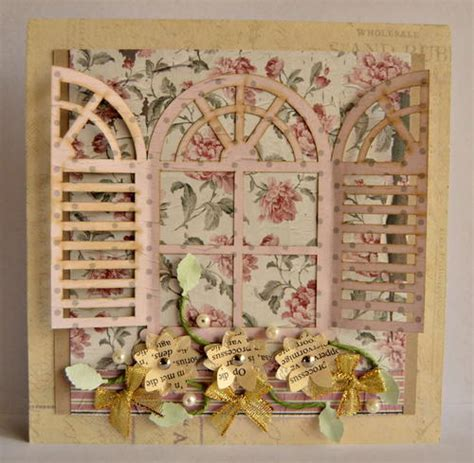 Handmade Vintage Cards - vintage terracotta diy card allfreepapercrafts