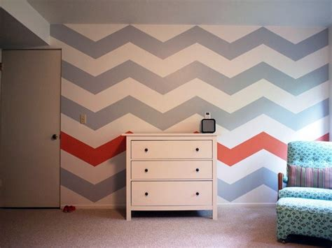 chevron pattern accent wall accent walls don t always have to be a solid colour love