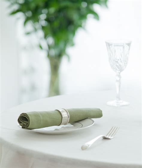 green linen table napkins huddleson linens