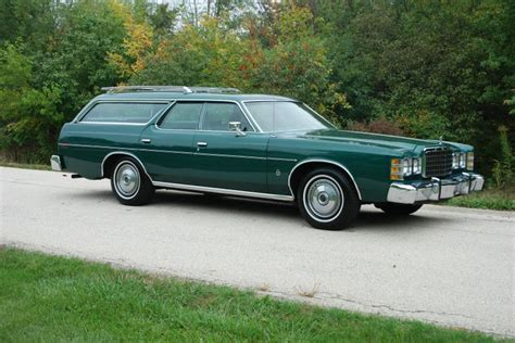 green ford station wagon 1978 ford ltd wagon with 67k original and in