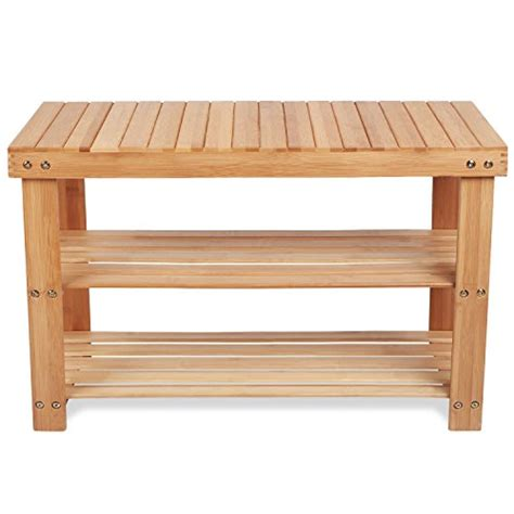 boot bench with storage bamboo shoe rack storage boot bench wooden shelf organize