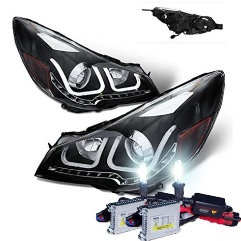 Hid Xenon 2010 2012 Subaru Outback Led U Style Light Bar