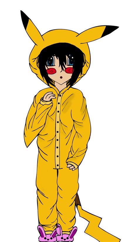 emo   pikachu onesie  emo pikachu emo drawings