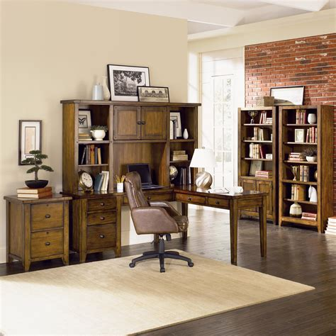 aspen home l shaped desk aspenhome cross country l shaped desk hutch becker