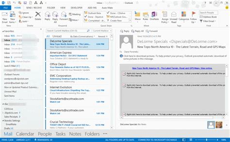 outlook layout email preview tip 1036 outlook 2013 s 50 shades of gray outlook tips
