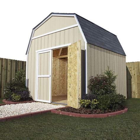 Wooden Storage Shed Kits by Wood Storage Shed Kits Front Yard