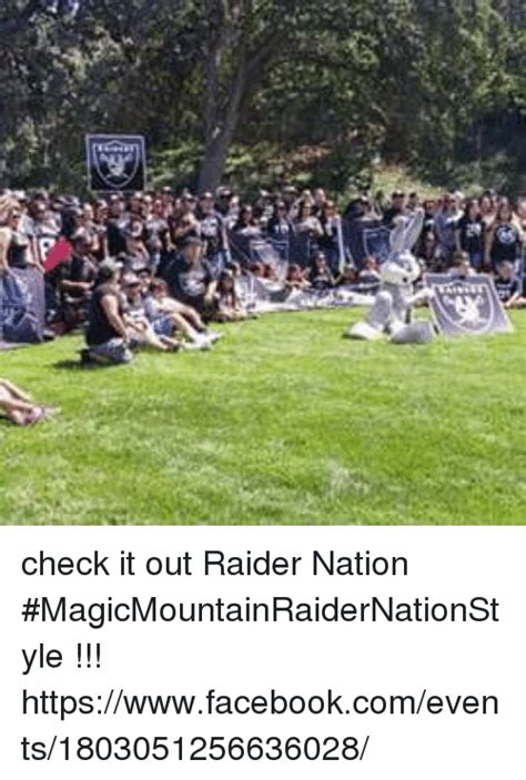 Out And About Nation by Check It Out Nation Magicmountainraidernationstyle