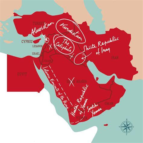 Ottoman Empire Borders by هل ستحد إعادة ترسيم الحدود من نزاعات الشرق الأوسط نون بوست