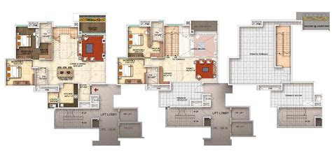 floor plans by address the address makers five summits 3 4 bhk whitefield bangalore