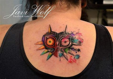 majora s mask tattoo majoras mask best ideas gallery
