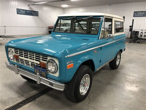 1970 Ford Bronco by 1970 Ford Bronco For Sale 77339 Mcg