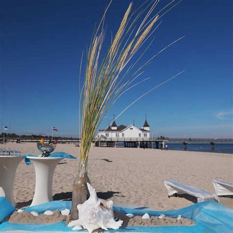 Strand Deko Hochzeit by Hochzeit Am Strand Heiraten Am Meer Strand Hochzeiten De