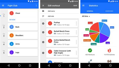 android fitness apps 10 best fitness apps for android wear smartwatches hongkiat