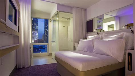yotel design concept yotel offers tiny capsule hotels in united states abc news