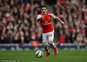 arsenal right back arsenal star hector bellerin i left barcelona because of