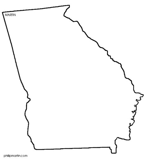 coloring page map of georgia georgia 20clipart clipart panda free clipart images