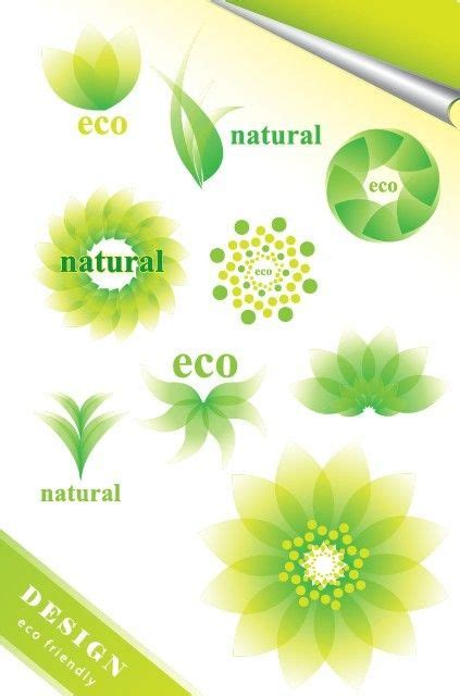Eco Friendly Green Symbol Set Vector 06 Free Web Graphic Design Resources Pinterest Eco Vectors Photos And Psd Files Free