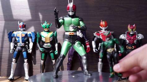 Big Sofubi Kamen Rider W Banpresto Kamen Masked Rider Black Rx Big Size Vinyl