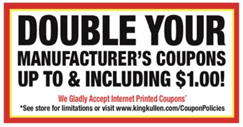 printable grocery coupons no sign up coupons ecoupons and grocery savings king kullen