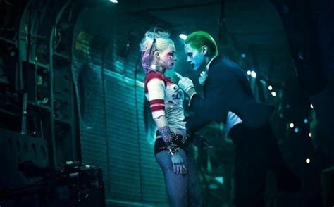 New Wig Harley Squad Justice League Joker alternate harley quinn joker helicopter image from squad cosmic book news